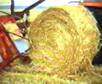 baling cereal straw